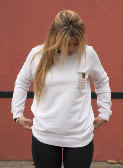mode eco responsable sweat femme coton bio baskinside marque basque au pays basque lartigue